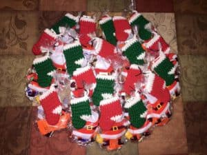 Christmas Stocking Ornament Free Crochet Pattern